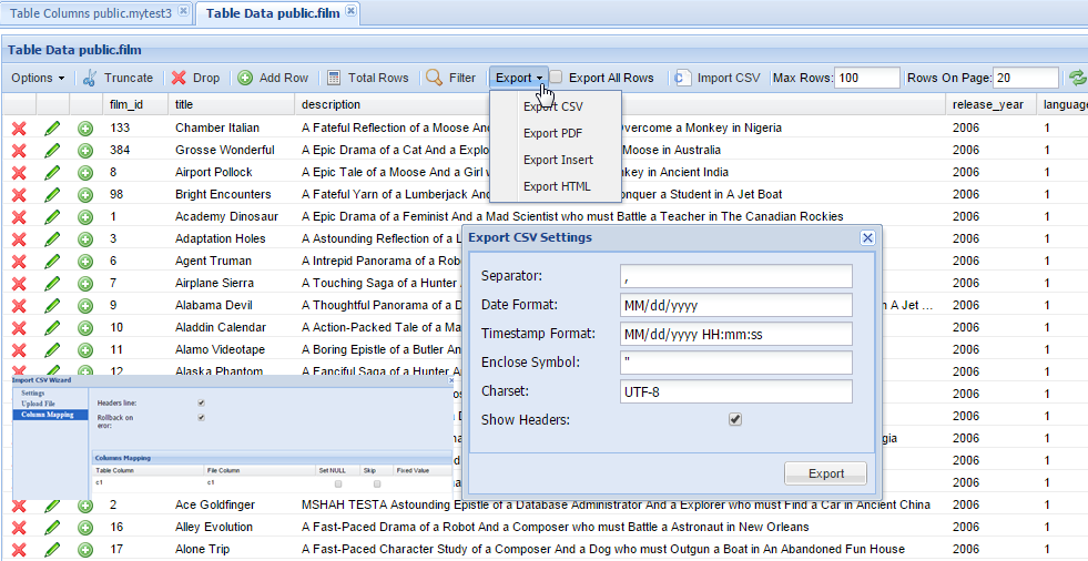 Build Ad Hoc Reports In System