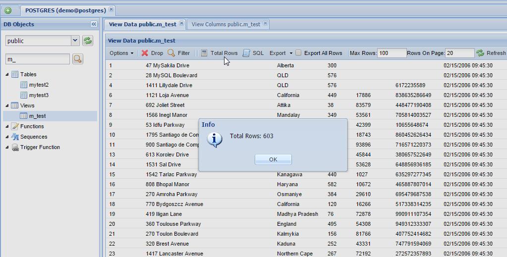 Postgres update table in sql for Sql update table