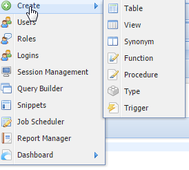 SQL Server create table
