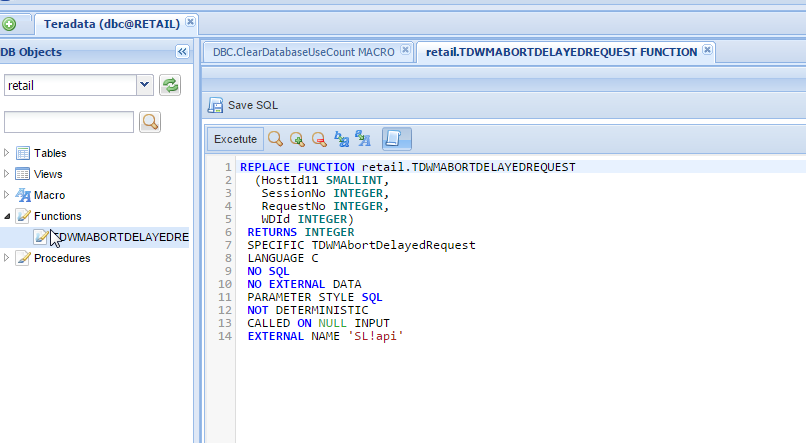 Teradata Client Tool Sql Assistant Web Based Dbhawk