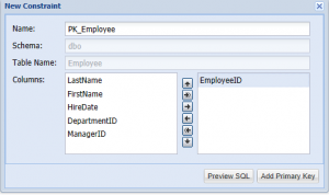 SQL Server Add Constraints