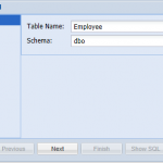 Add new SQL Server Table