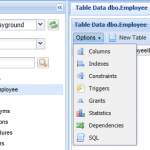 SQL Server Table Details