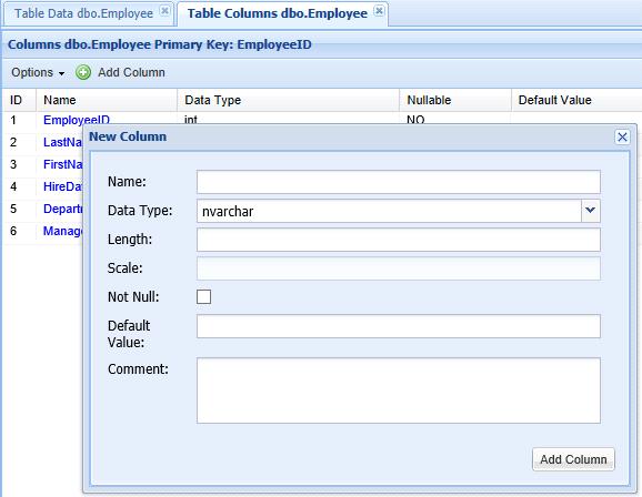 Sql server alter table add column - Alter table change data type sql server ...