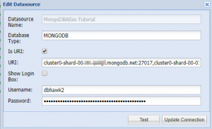 DBHawk MongoDB Atlas Database Connection Setup