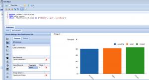MongoDB Bar Chart with DBHawk