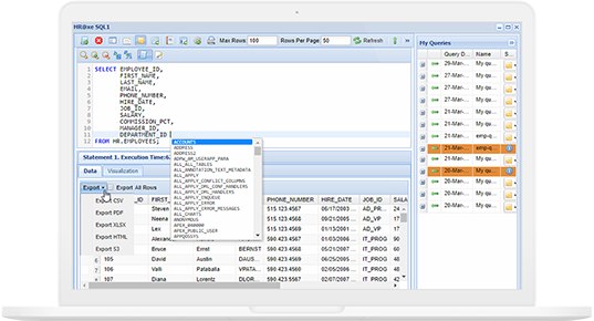 Online SQL Editor | Web-Based Query Editor | DBHawk