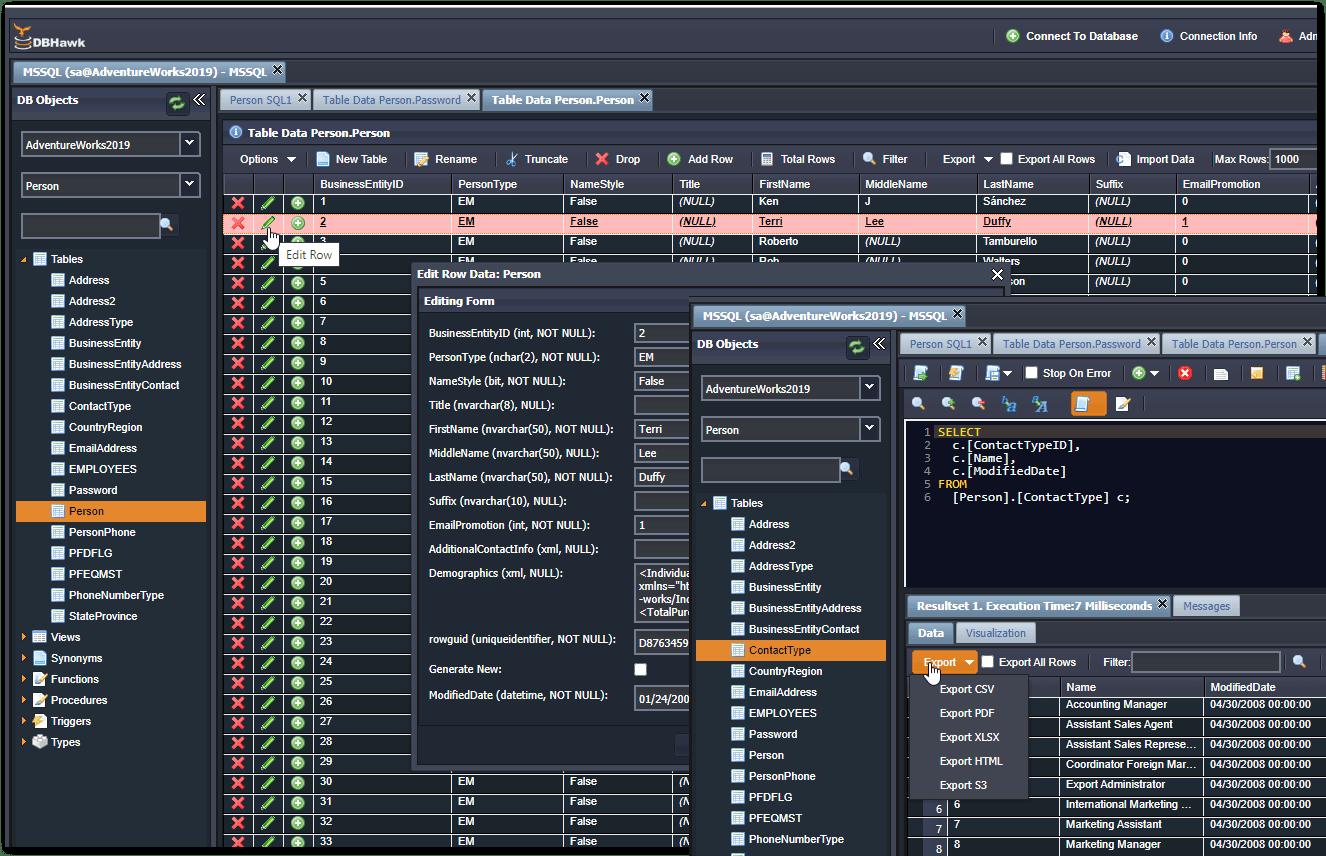 DBHawk for SQL-Server
